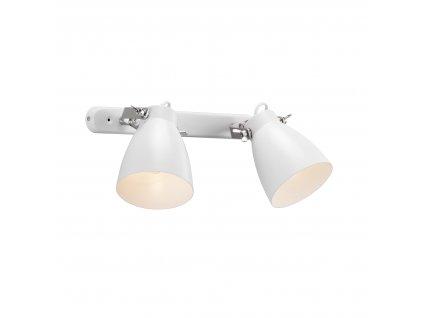 LARGO nástenná lampa dvojitá (1)