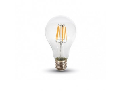 LED žiarovka E27 8W teplá biela filament