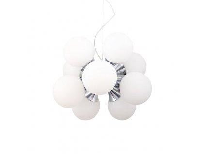 BALL dizajnový luster zo sklenených gulí