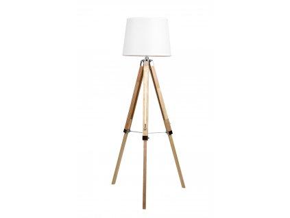 TRES | stojaca lampa na drevených nohách