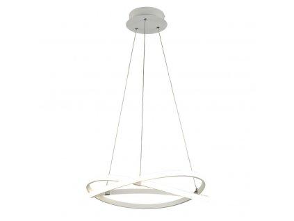 INFINITI BLANCO luxusné visiace led svietidlo biela 51cm