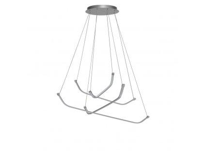 PAPUA luxusné dizajnové visiace led svietidlo 100cm
