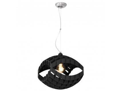 KITI | čierna štýlová visiaca lampa