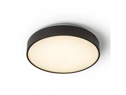 MENSA R 40 | stropné kruhové led svietidlo čierne