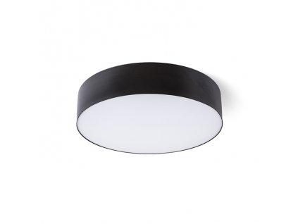 COIMBRA | stropná čierna lampa  LED 24W