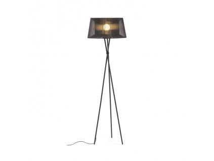 BOULOGNE | stojanová čierna lampa