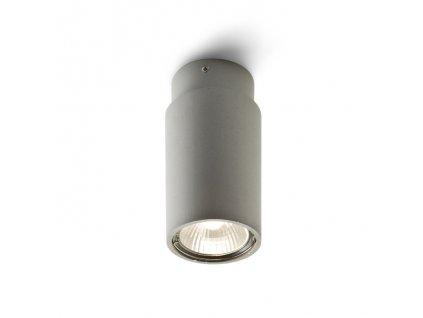 EX GU10 | valcová stropná striebornosivá bodovka