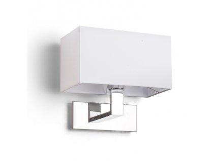 PLAZA | nástenná hranatá lampa s tienidlom