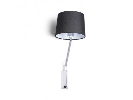 SHARP | čierna nástenná lampa