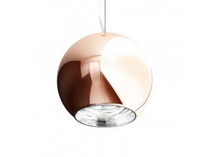 BEAU MONDE 25 | závesná lampa medené sklo