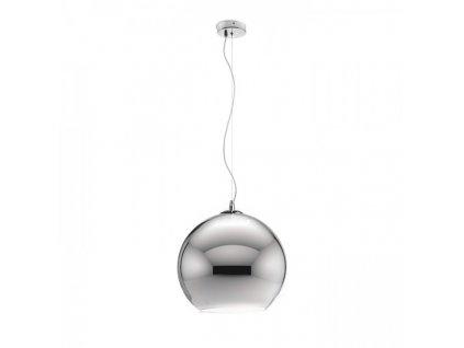 BEAU MONDE 30 | závesná lampa chrómované sklo