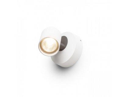 DUGME I | biela/antracitová lampa