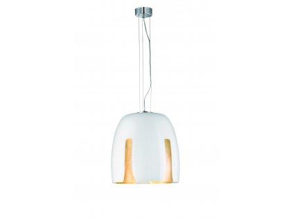 MADEIRA | luxusné závesné svietidlo so skleneným tienidlom (Farba Čierna)