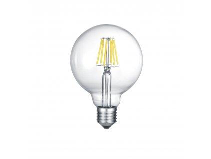 GLOBE | Sklenená LED žiarovka E27 6W/3000K