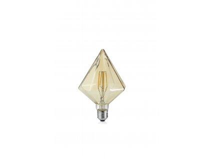 KRISTALL   Dekoratívna LED žiarovka E27 4W/2700K