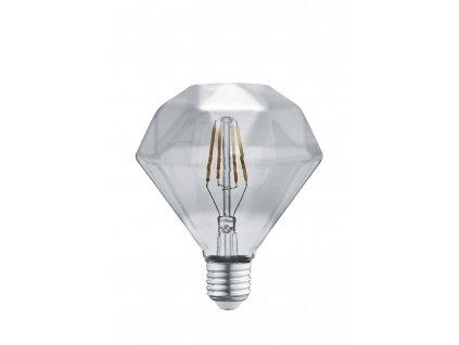 DIAMANT | Ozdobná LED žiarovka E27 4W