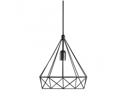 AIRE   dizajnové závesné svietidlo s kovovým tienidlom