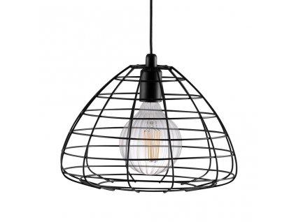 ESK | dizajnové závesné svietidlo s klietkovým tienidlom