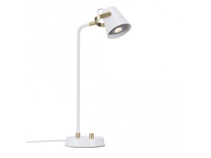 FEZ | stolové biele kovové svietidlo