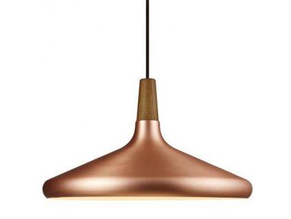 FLOAT 39 | závesné svietidlo z kovu a dreva