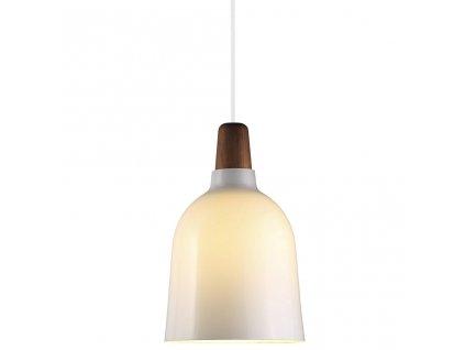 78343012 | Nordlux | KARMA 20 | závesné svietidlo z tmavého dreva a skla