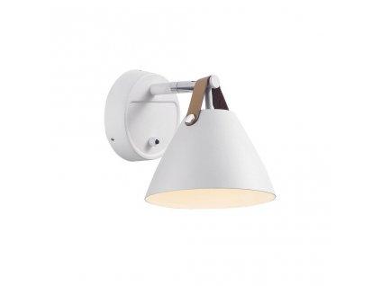 84291003 | Nordlux | STRAP 15 | nástenné svietidlo z kovu a kože GU10