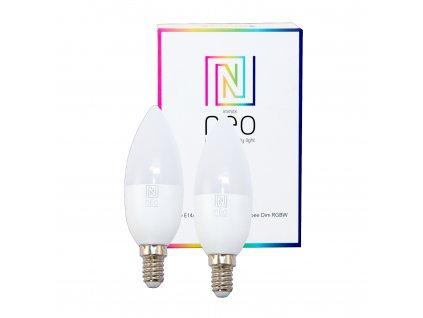 07005B | Immax | IMMAX NEO | sada smart RGBW žiaroviek E14