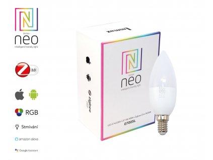 07005L | Immax | IMMAX NEO | smart RGBW žiarovka E14