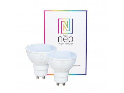 07006B | Immax | IMMAX NEO | sada smart RGBW žiaroviek GU10