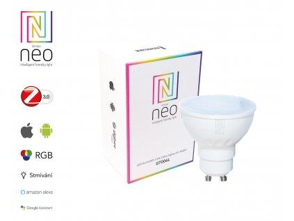 LED GU10/230V 3,5W 230lm Zigbee Dim RGBW