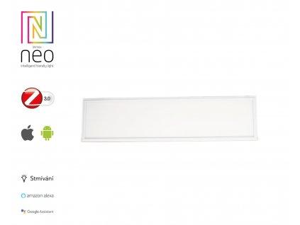 """Immax NEO""""TABLON"""" 07014KD Smart LED panel 300x1200mm 38W Zigbee Dim strieborná"""