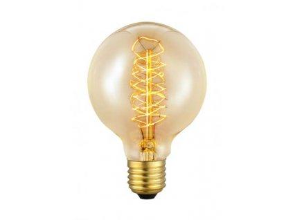 Žiarovka Carbon filament E27 G80