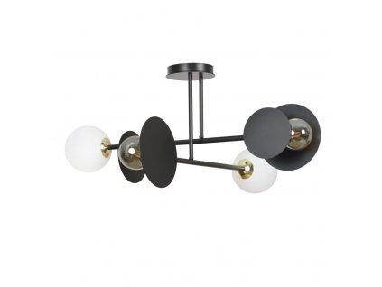 MINERVA 4   dizajnová stropná lampa (Farba Biela)