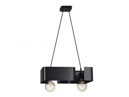 KOMA 2   dizajnová závesná lampa (Farba Biela)