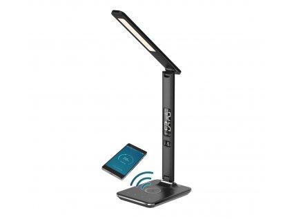 08959L | Immax | KINGFISHER | LED stolná lampička s bezdrôtovým nabíjaním
