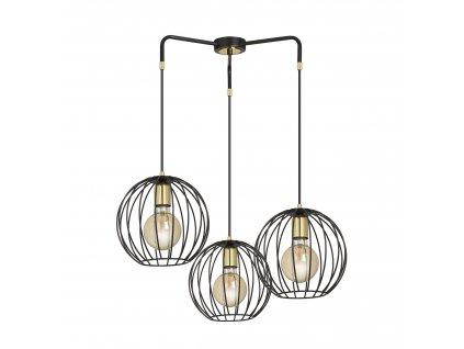 ALBIO 3 | dizajnová závesná lampa (Farba Biela)