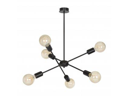 Proton 6 | dizajnová stropná lampa (Farba Biela)