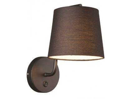 CHICAGO | luxusná nástenná lampa (Farba Biela/chróm)