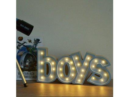 BOYS | LED stolná lampička (Farba Žltá)