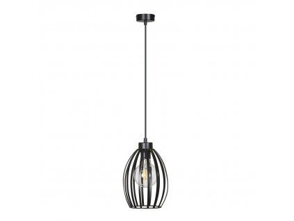 BORIS 1 | dizajnová závesná lampa (Farba Čierna)