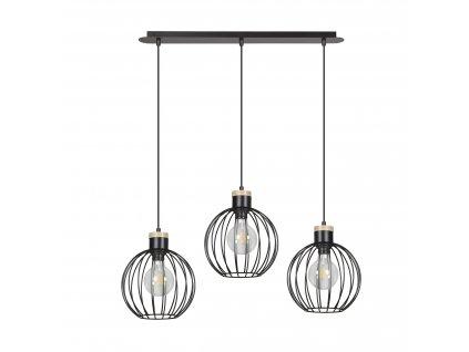BARBADO 3 | dizajnová závesná lampa (Farba Biela)