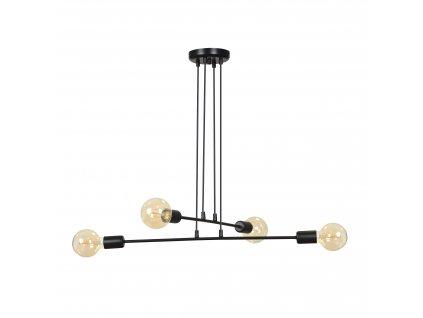 MULTIPO 4 | dizajnová závesná lampa (Farba Biela)