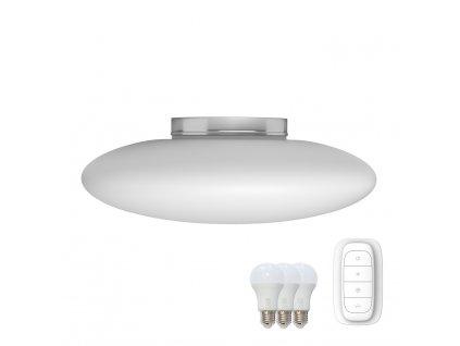 07058L2 | Immax | ELIPTICO 60 | IMMAX NEO | smart led prisadené svietidlo biele sklo