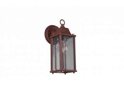 201960142 OLONA| Retro nástenná vonkajšia lampa v tvare lampáša IP23