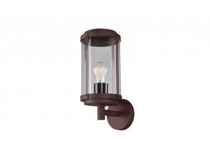 202360142 TANARO| Retro nástenná vonkajšia lampa v tvare lampáša IP44