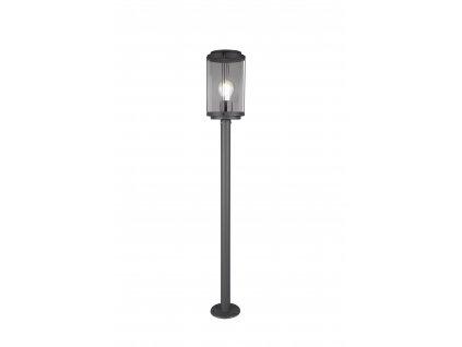 402360142 TANARO | Retro stojaca vonkajšia lampa v tvare lampáša IP44