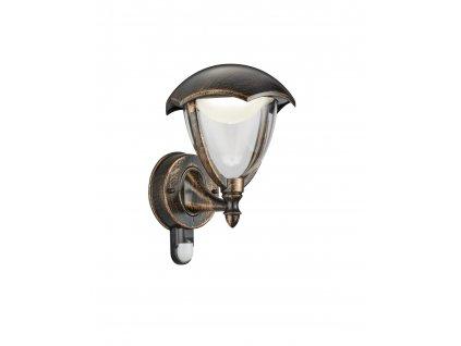 221969142 GRACHT SENZOR | Nástenné vonkajšie LED svietidlo so senzorom pohybu IP44