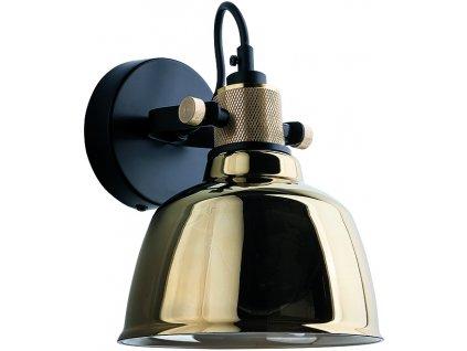 9155   Nowodvorski   AMALFI   Nástenná lampa zo skla a kovu