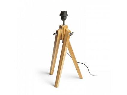 1623716 ambitus stolny dreveny podstavec e27