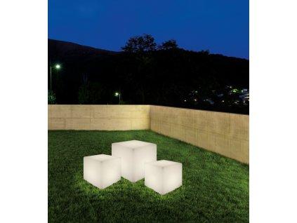 8966 | Nowodvorski | CUMULUS | Vonkajšie plastové svietidlo v tvare kocky